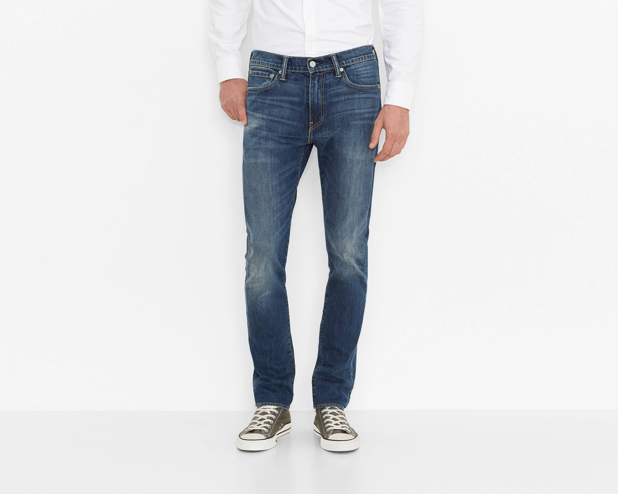510� skinny fit stretch jeans blue canyon levis