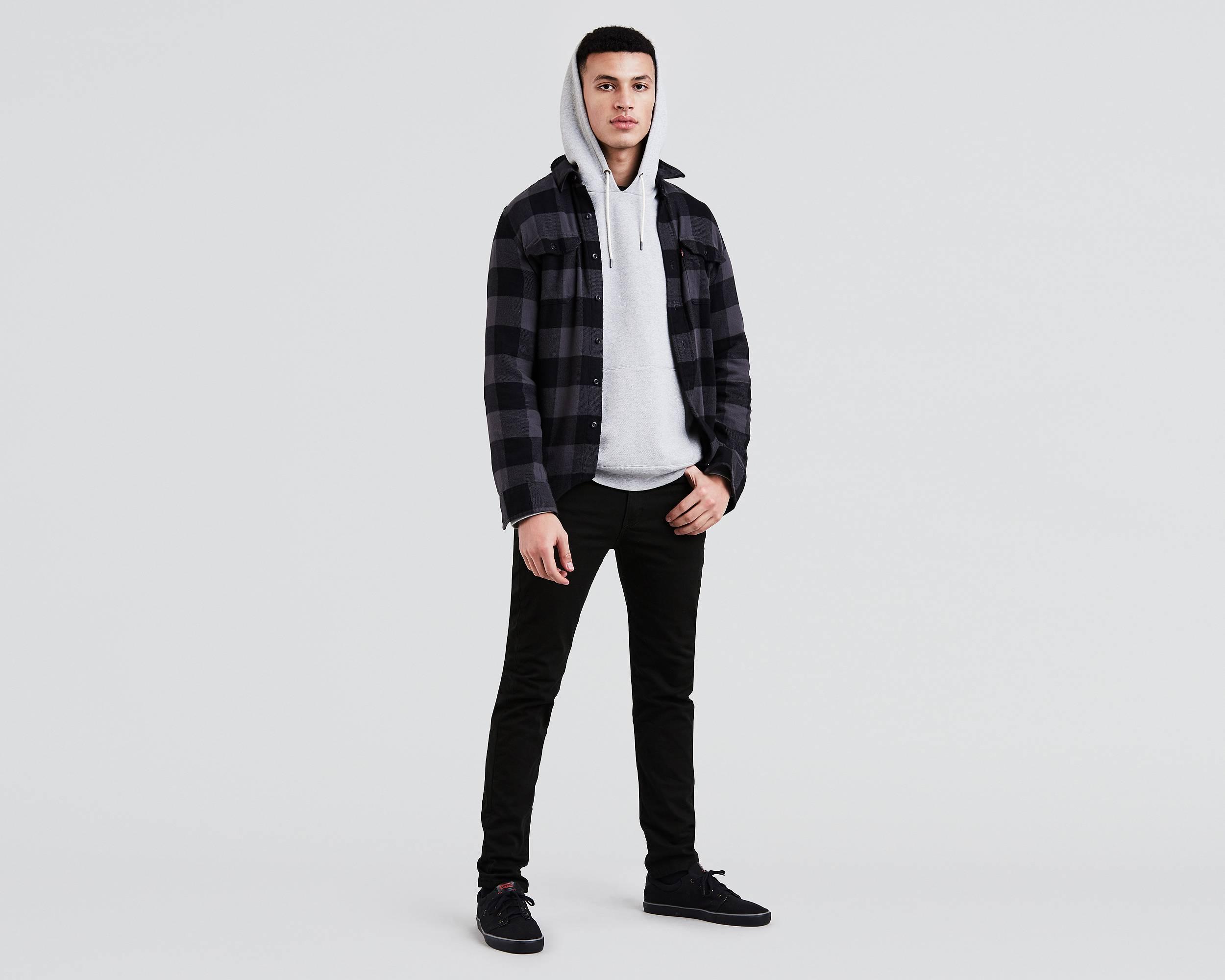 510™ Skinny Fit Stretch Jeans | Jet |Levi's® United States ...