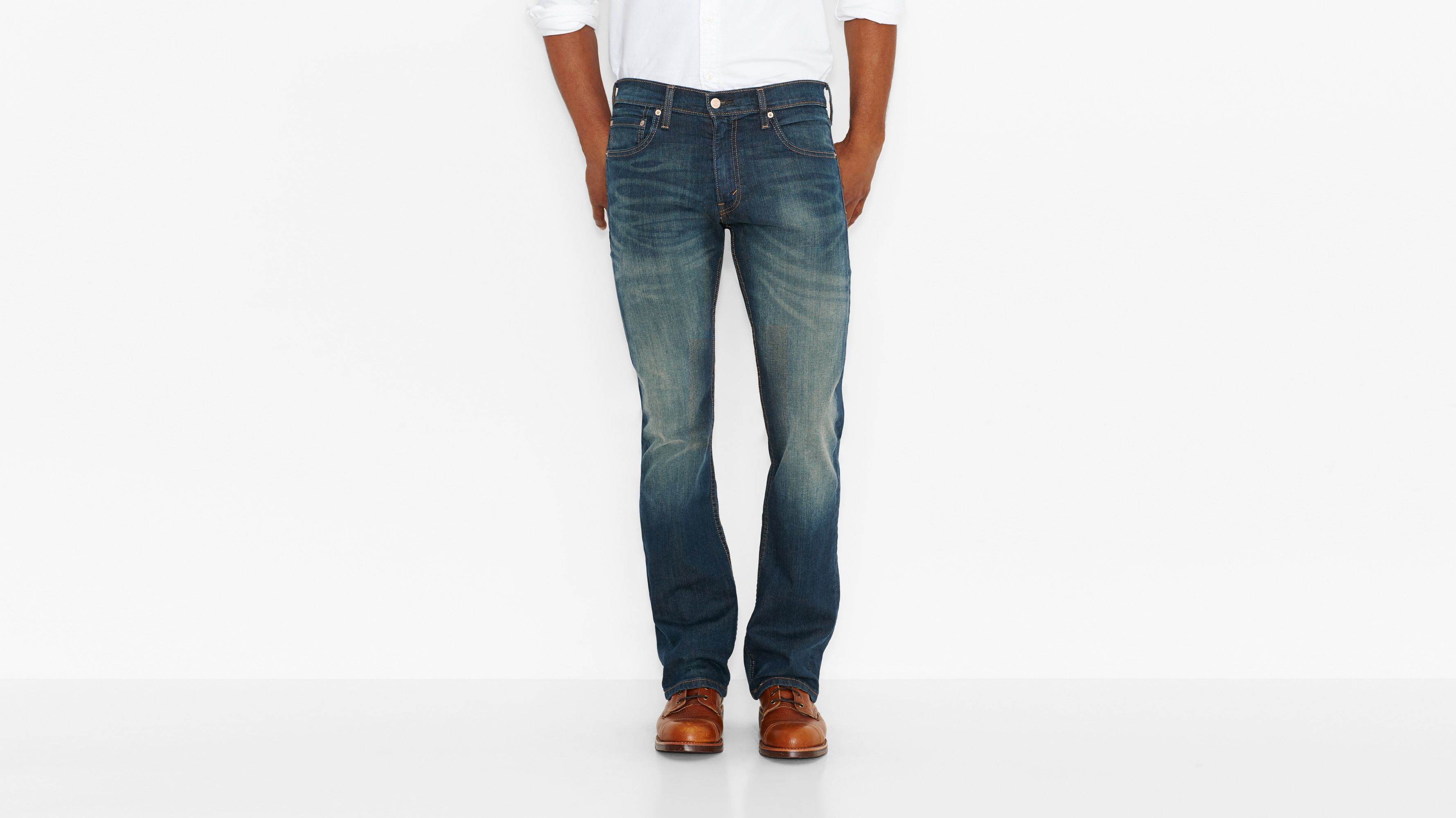 527™ Slim Boot Cut Jeans - Cash