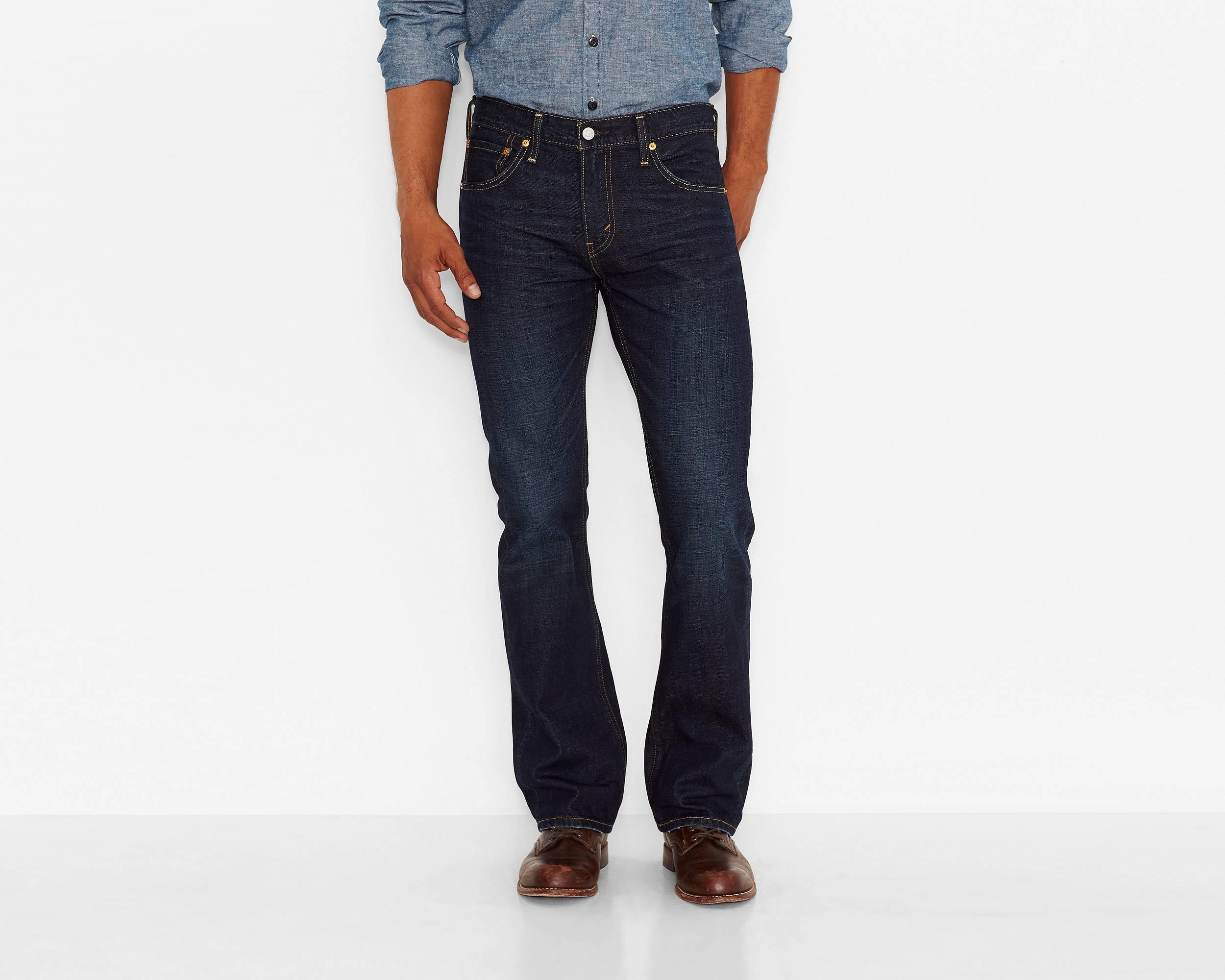 semi bootcut jeans - Jean Yu Beauty