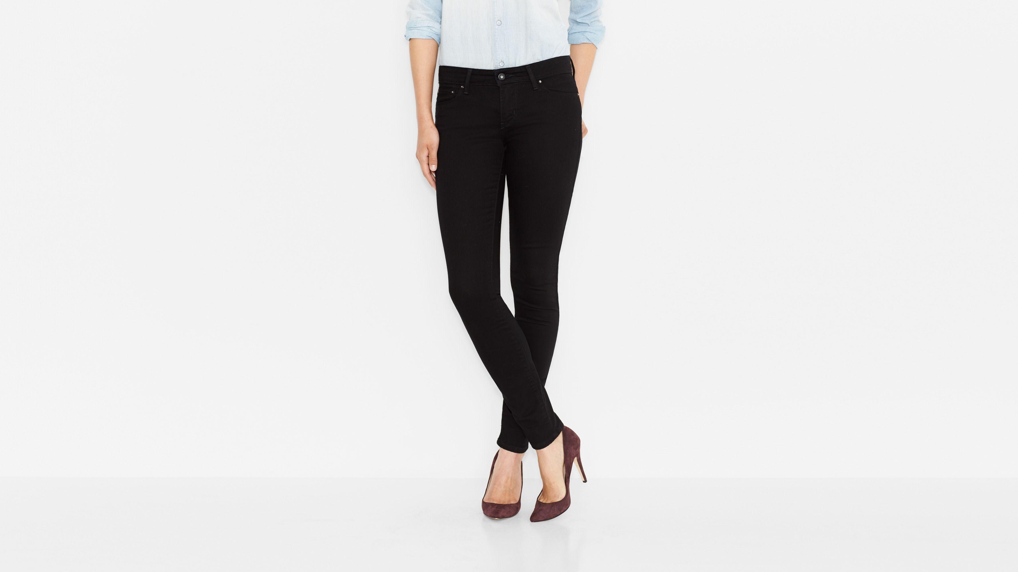 Demi Curve Skinny Jeans - Ultra Black