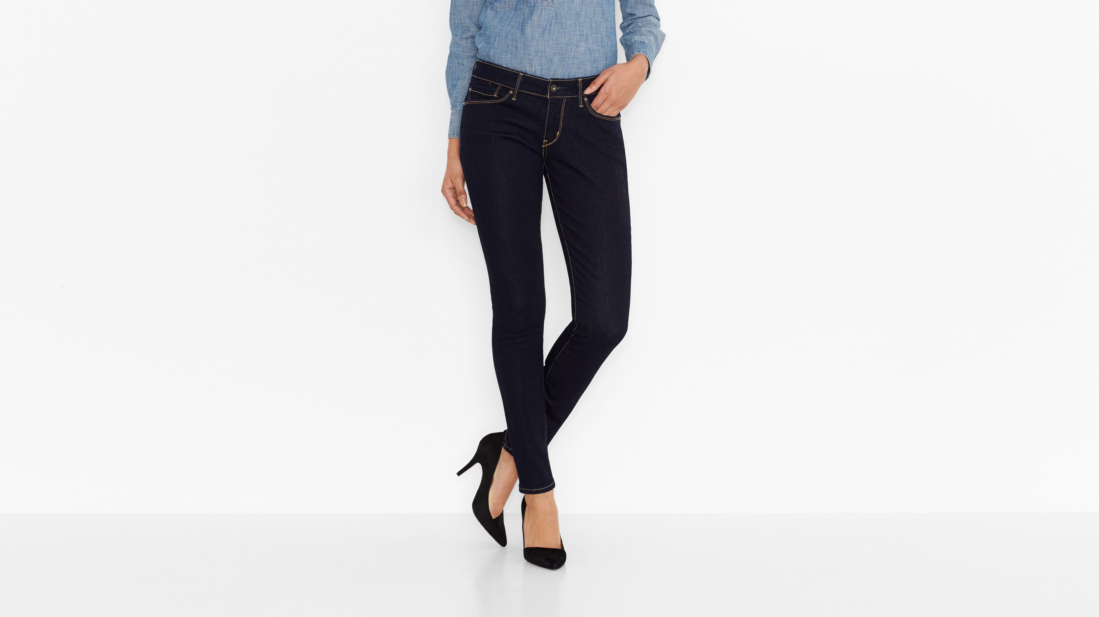 Demi Curve Skinny Jeans - Extra Shade