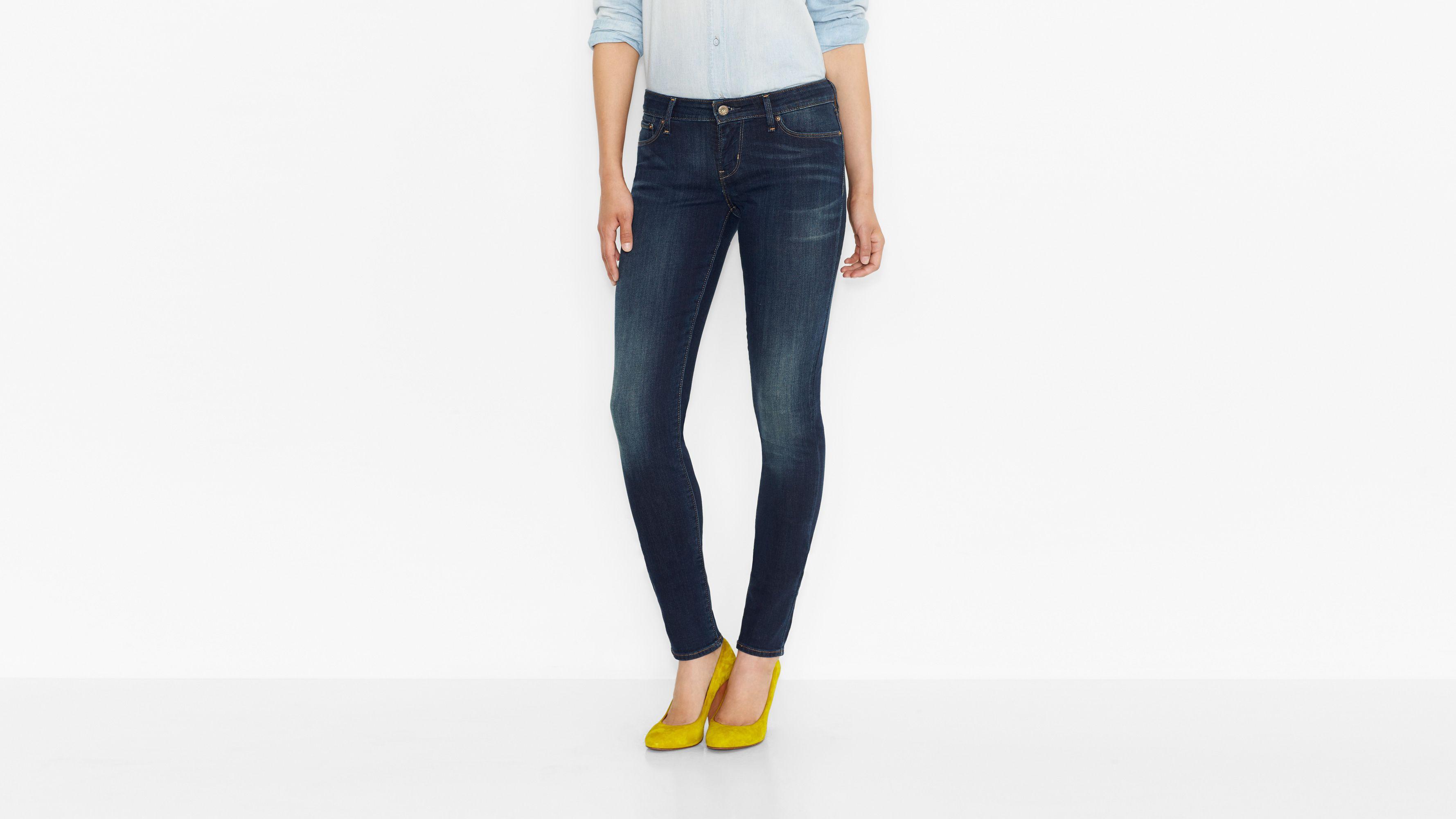 Demi Curve Skinny Jeans - Lone Star