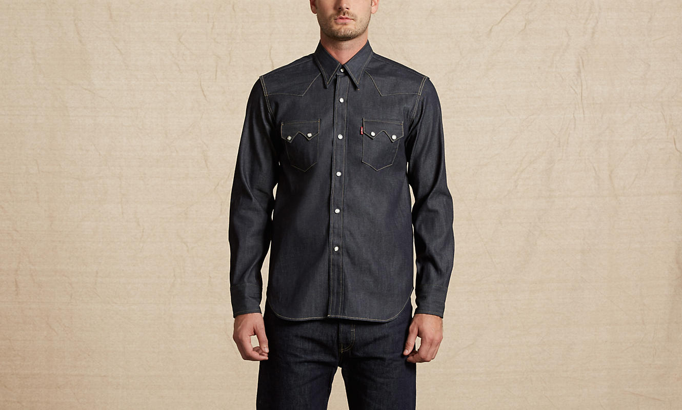 Levi 39 s villeneuve 2 centre commercial au coeur de for Levis vintage denim shirt 1950 sawtooth slim fit