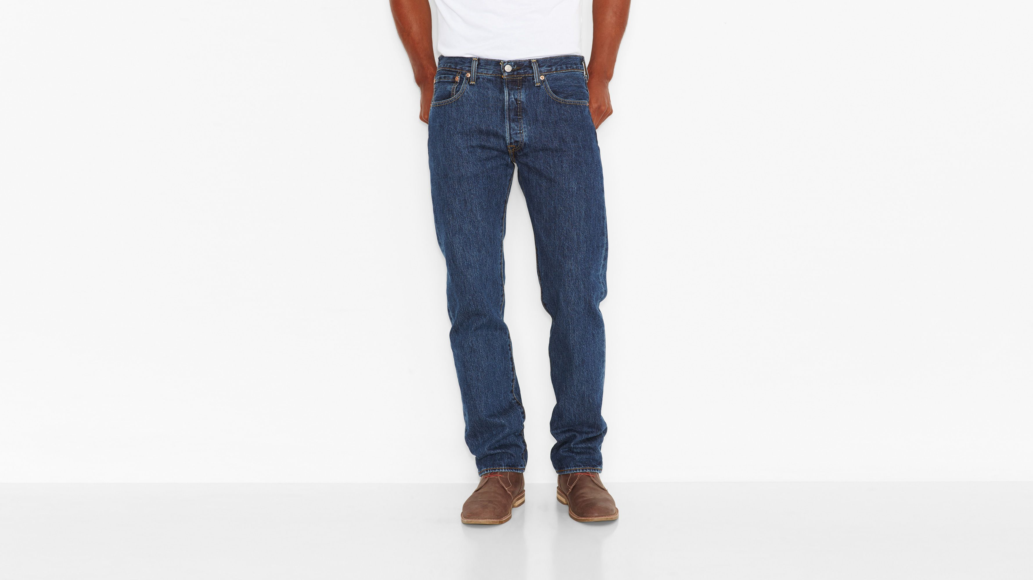 501® Original Fit Jeans (Big & Tall) - Dark Stonewash
