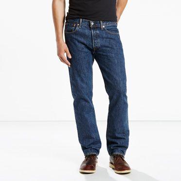 Levis-501® Original Fit Jeans (Big & Tall)-Dark Stonewash