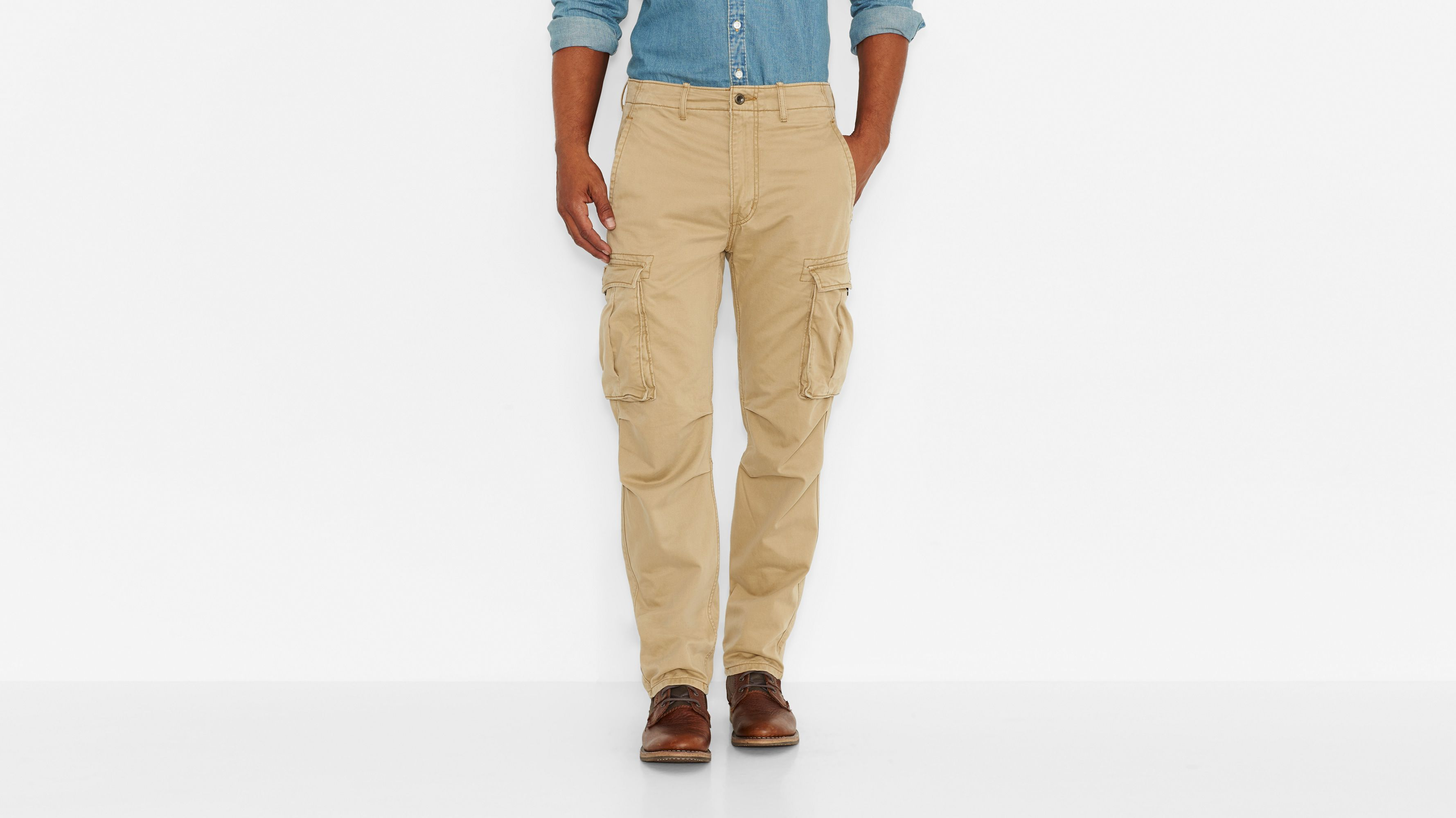 Ace Cargo Pants - Harvest Gold