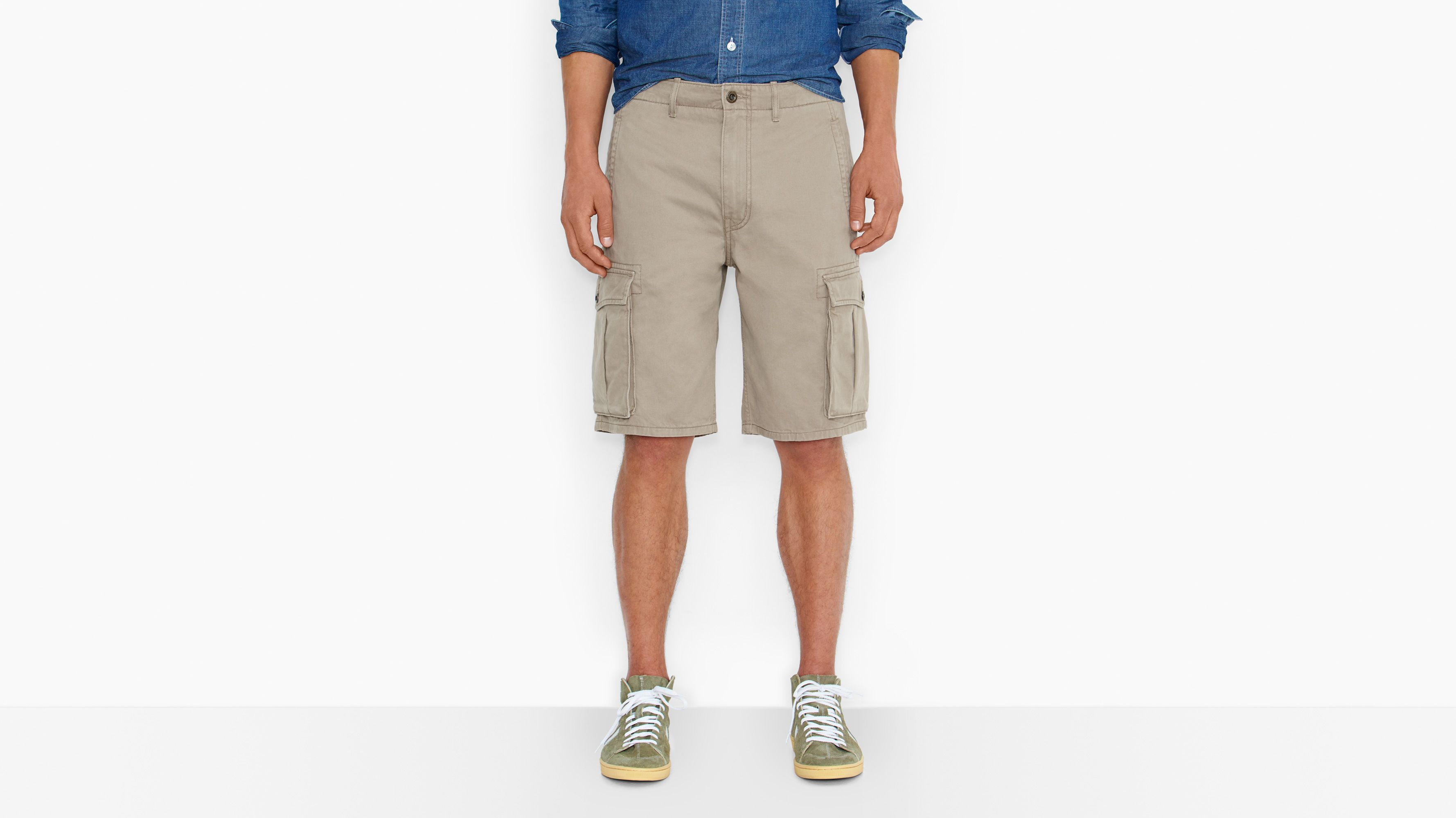 Ace Cargo Shorts - Timberwolf