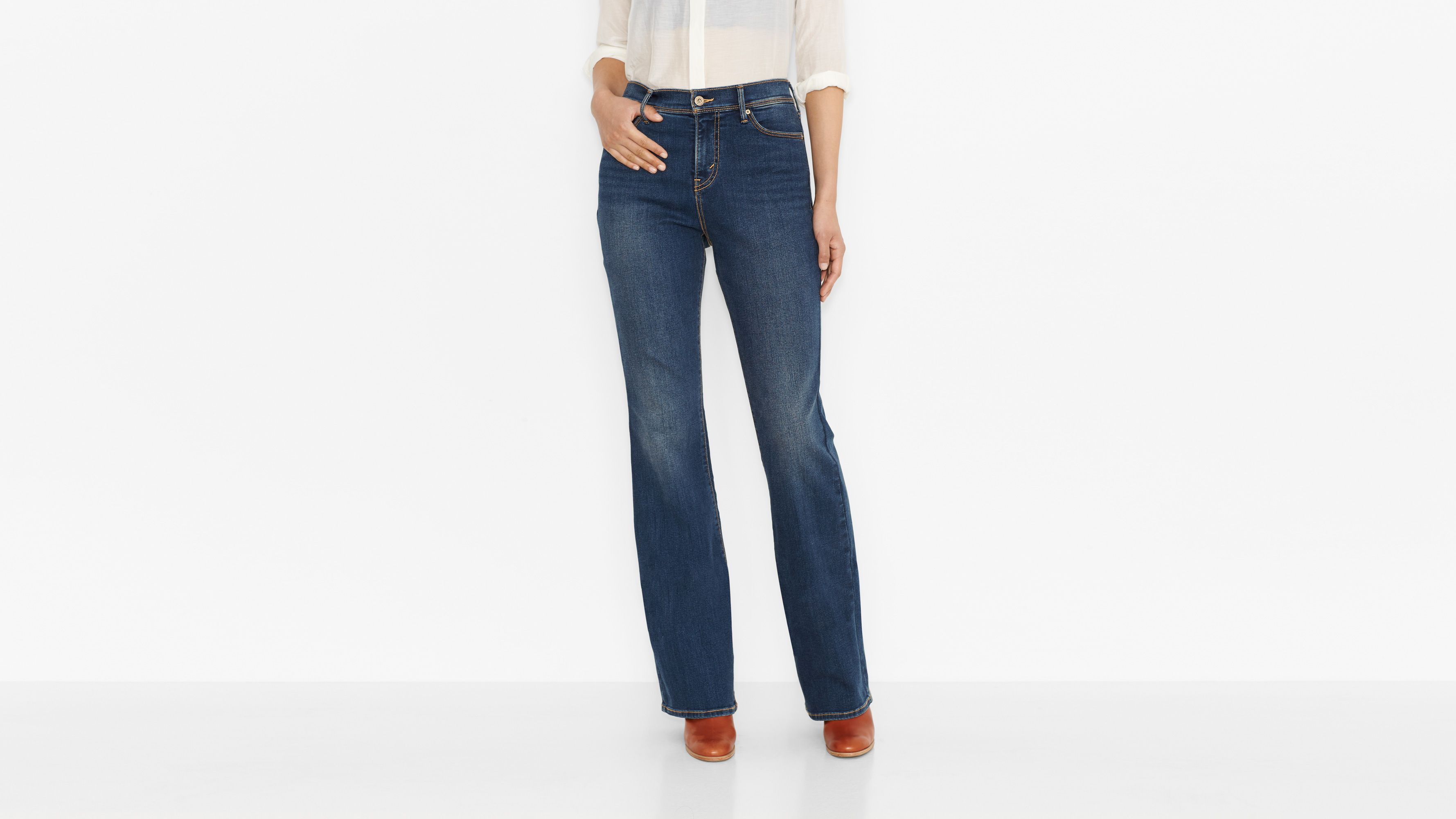 512™ Perfectly Slimming Boot Cut Jeans - Daylight
