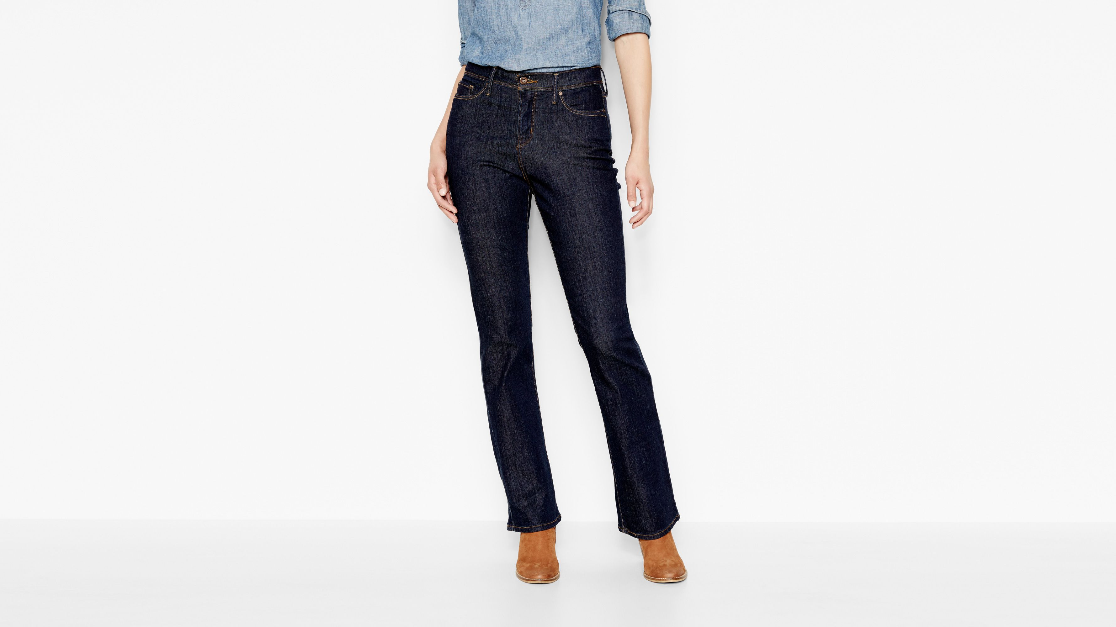 512™ Perfectly Slimming Boot Cut Jeans - Indigo Rinse