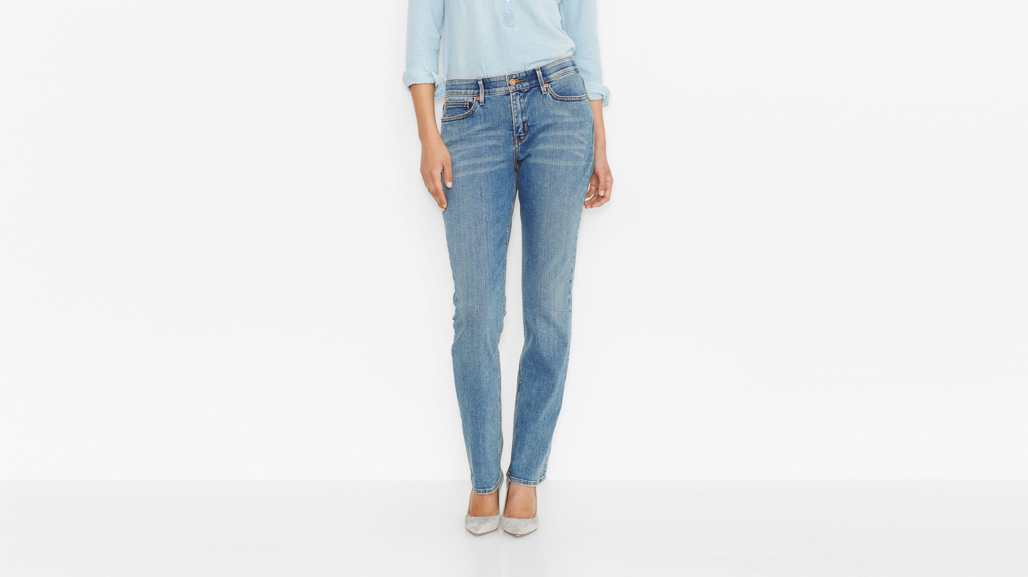 525™ Perfect Waist Straight Jeans - Sky