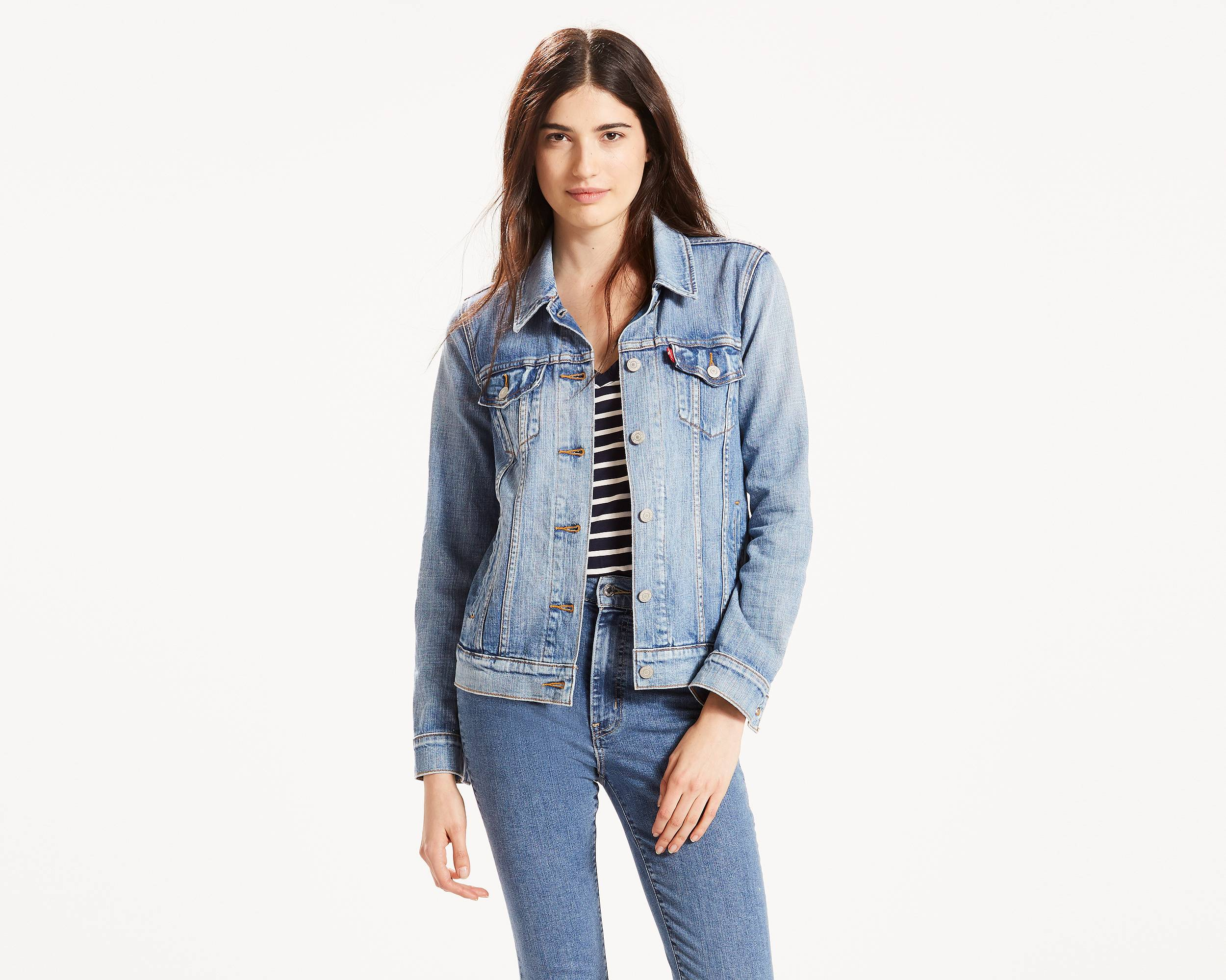 Jean Jackets for Women - Shop the Denim Trucker | Levi's®