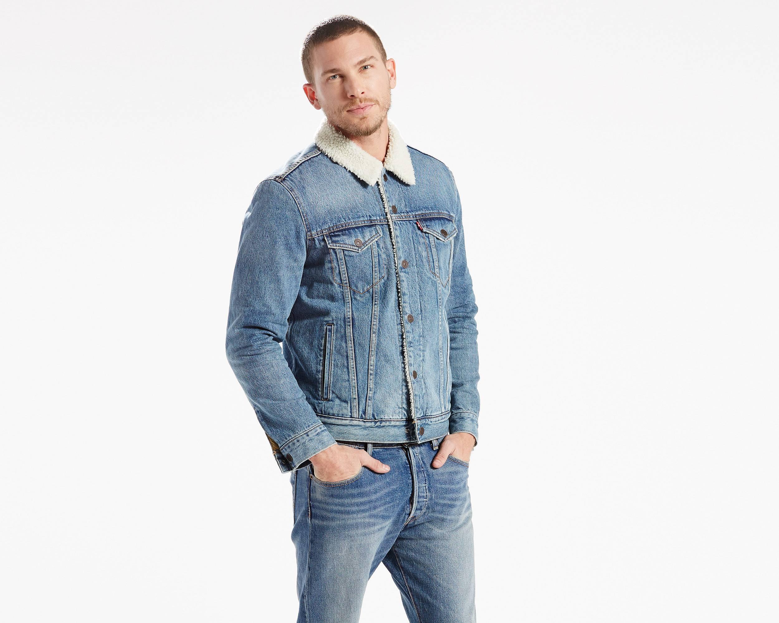 Levis denim jacket mens uk