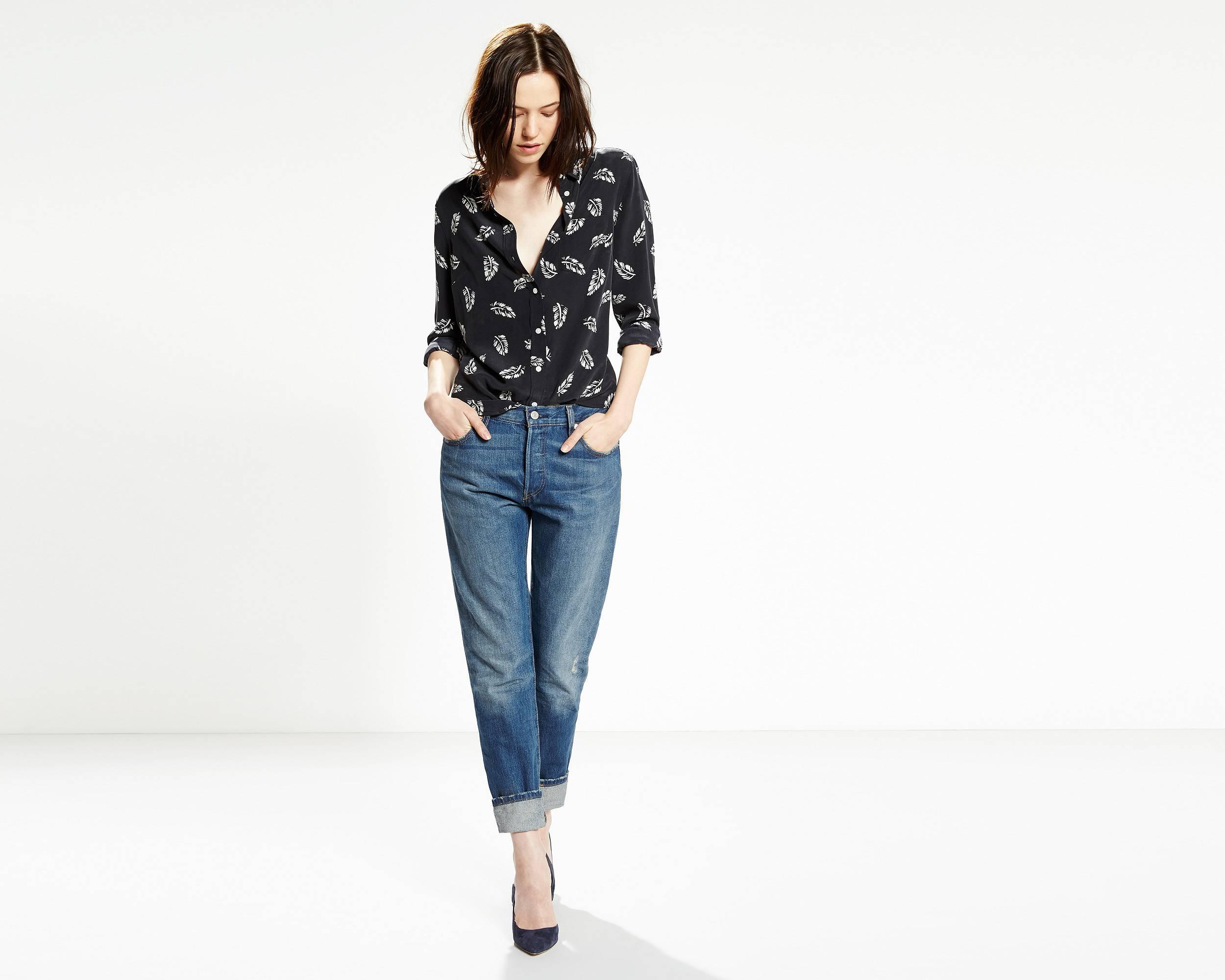 501 ct jeans for women cali cool levi 39 s france fr. Black Bedroom Furniture Sets. Home Design Ideas