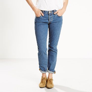 Women's 501® CT Jeans - New Fit, Tapered Leg 501® | Levi's®