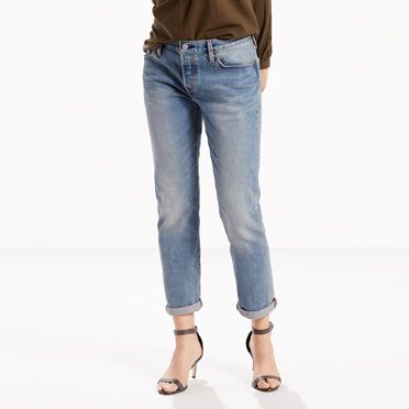 """""""Levis-501® CT Stretch Jeans for Women-Island Azure"""""""