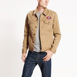 Levis® NFL Twill Trucker Jacket