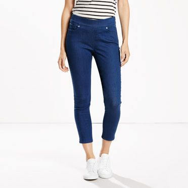 Perfectly Slimming Pull on Cropped Jeans