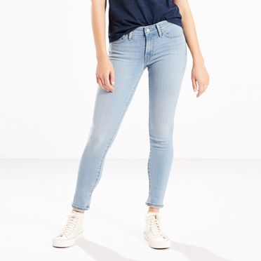 Levis 711 Skinny Jeans Brightside Blues
