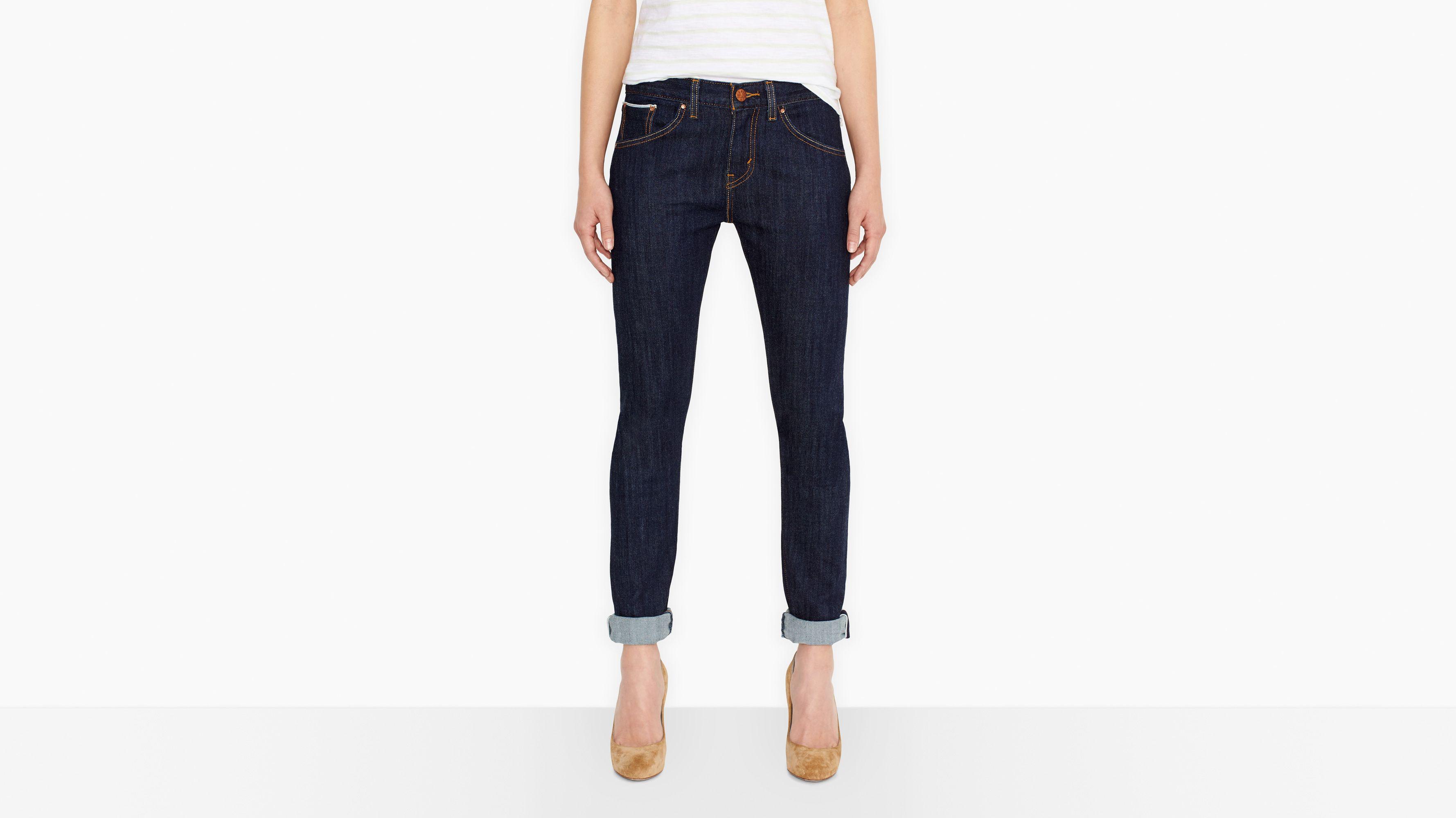Boyfriend Skinny Selvedge Jeans - Resin Rinse