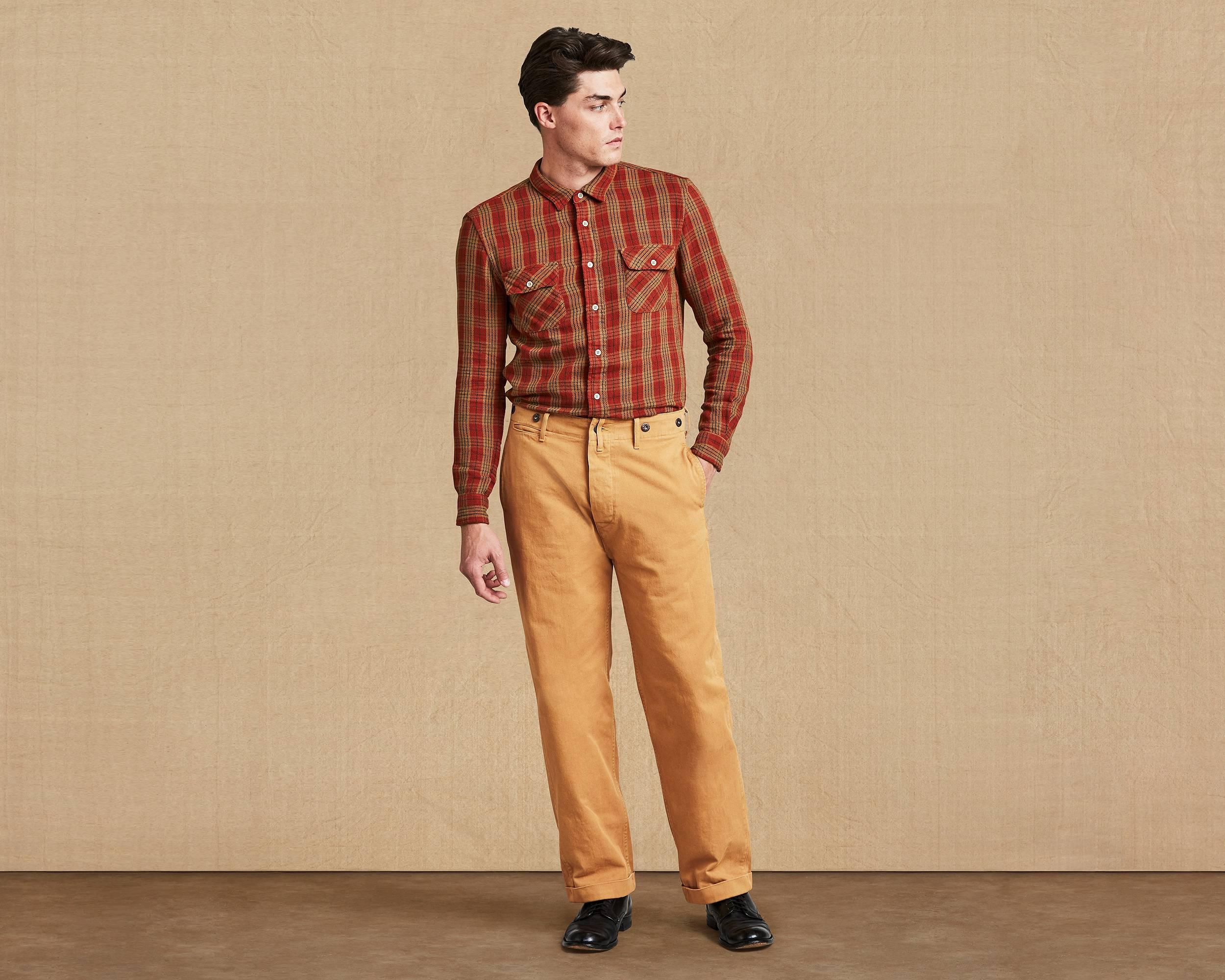 1920 s chino bone brown worn levi s 174 great britain uk