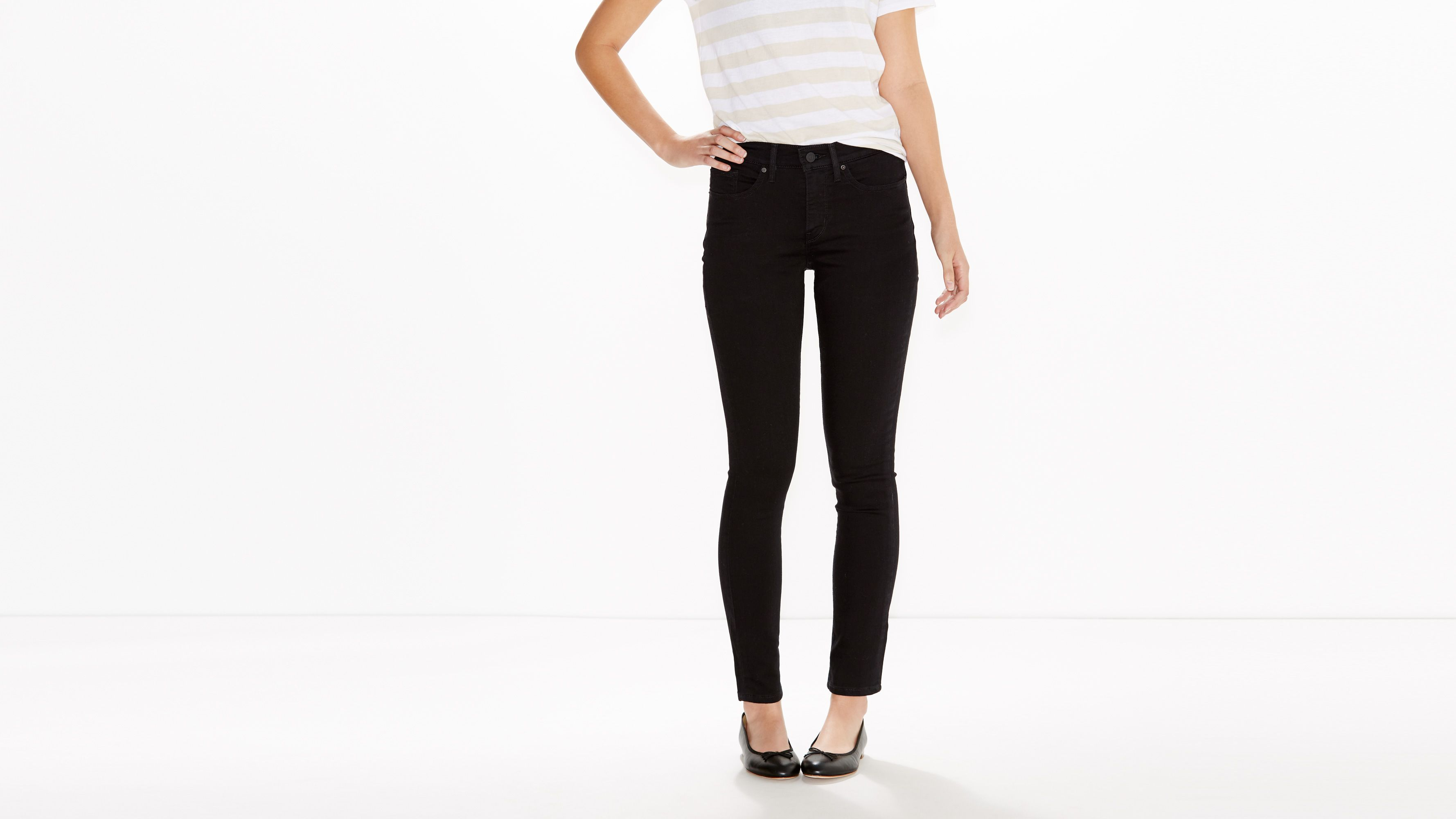 Image result for 311 SHAPING SKINNY JEANS black