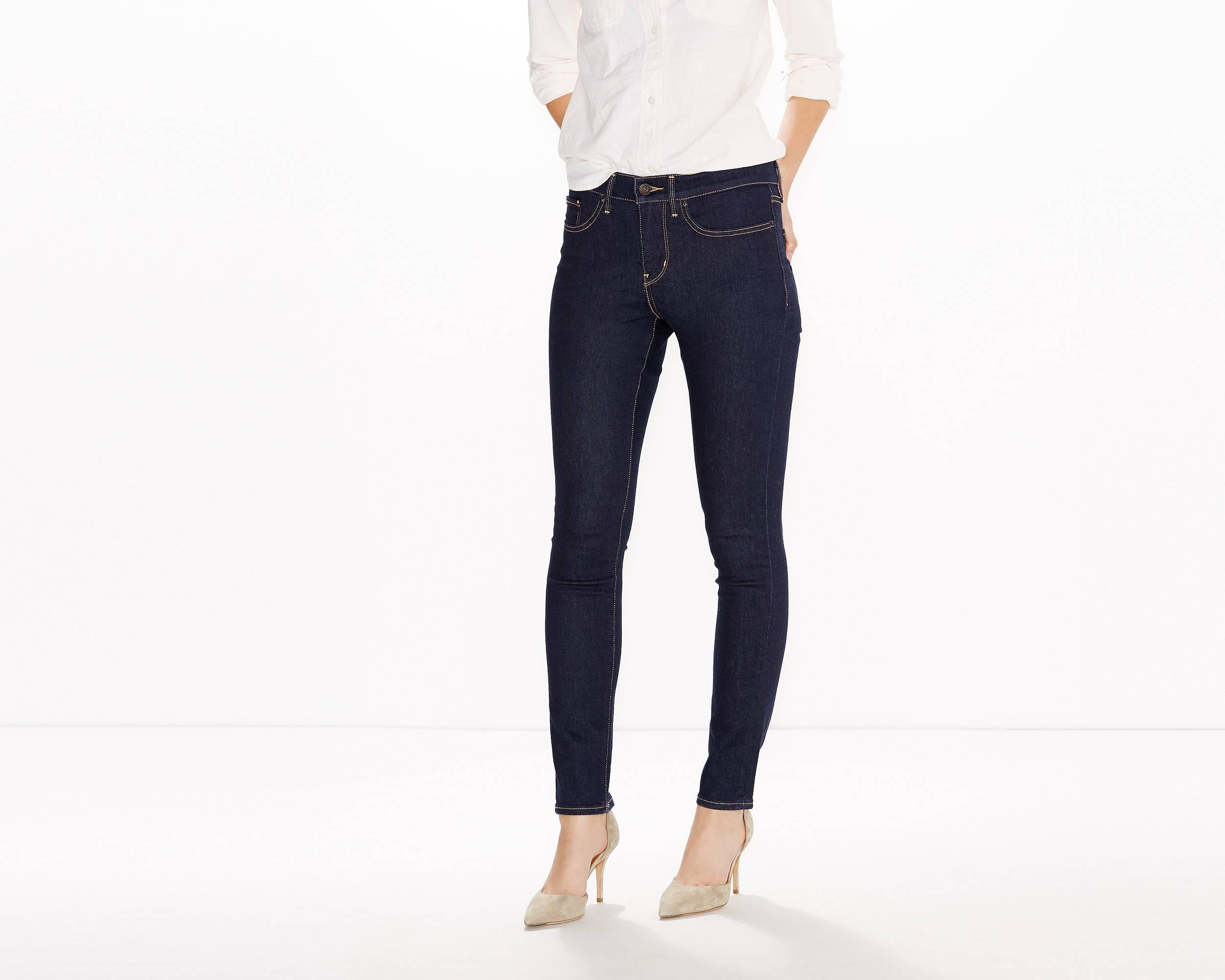Pantalon jean femme gris levi's
