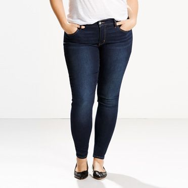 Plus Size Jeans - Skinny Jeans for the Plus Size Figure | Levi's®