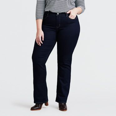 315 Shaping Boot Cut Jeans (Plus)