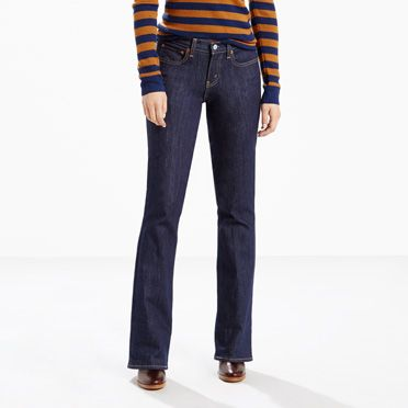 415 Classic Stretch Boot Cut Jeans | Treeline |Levi's® United ...