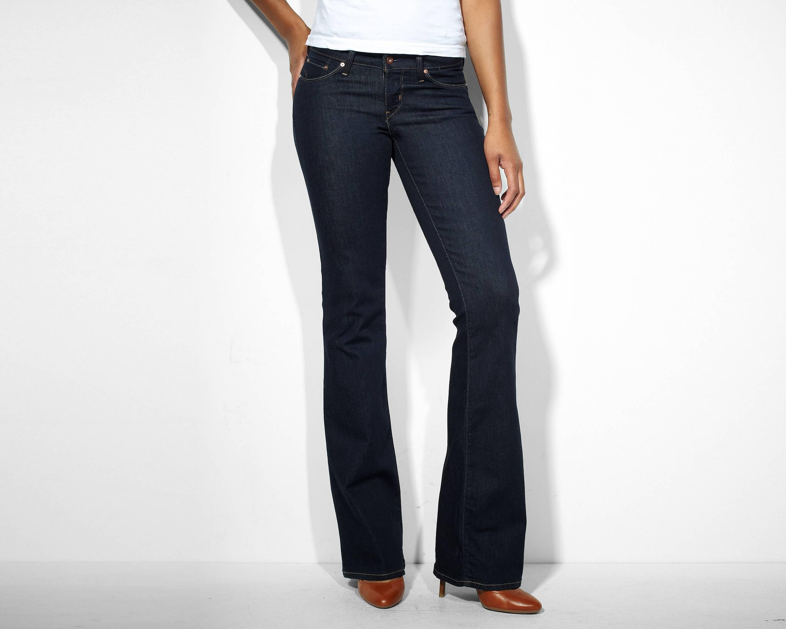 Modern Rise Bold Curve Flare Jeans | Richest Indigo |Levi's ...