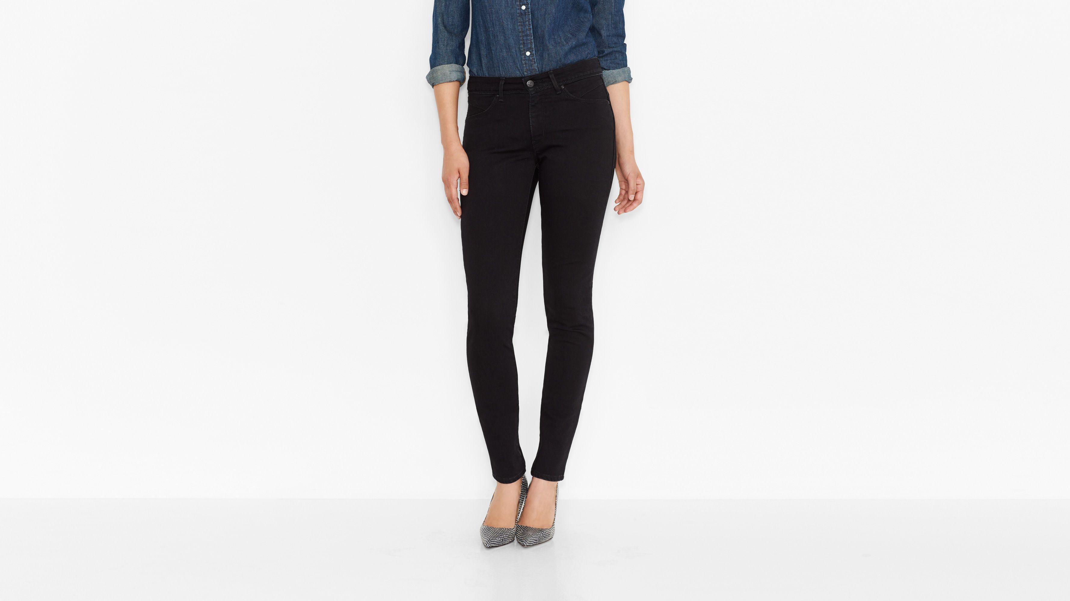 Levi's® Revel™ Demi Curve Skinny Jeans - Black