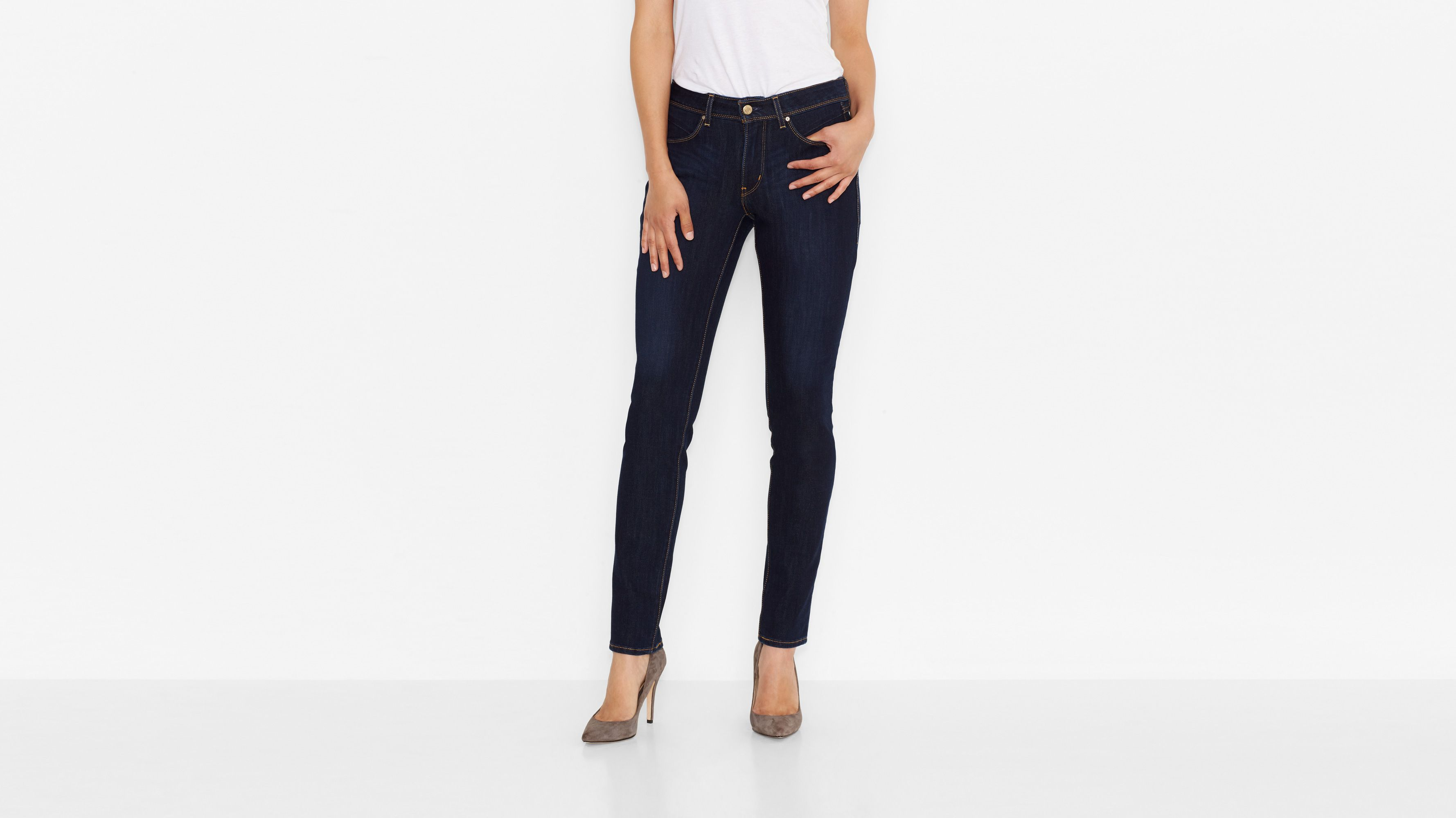 Levi's® Revel™ Bold Curve Skinny Jeans - Pressed Dark