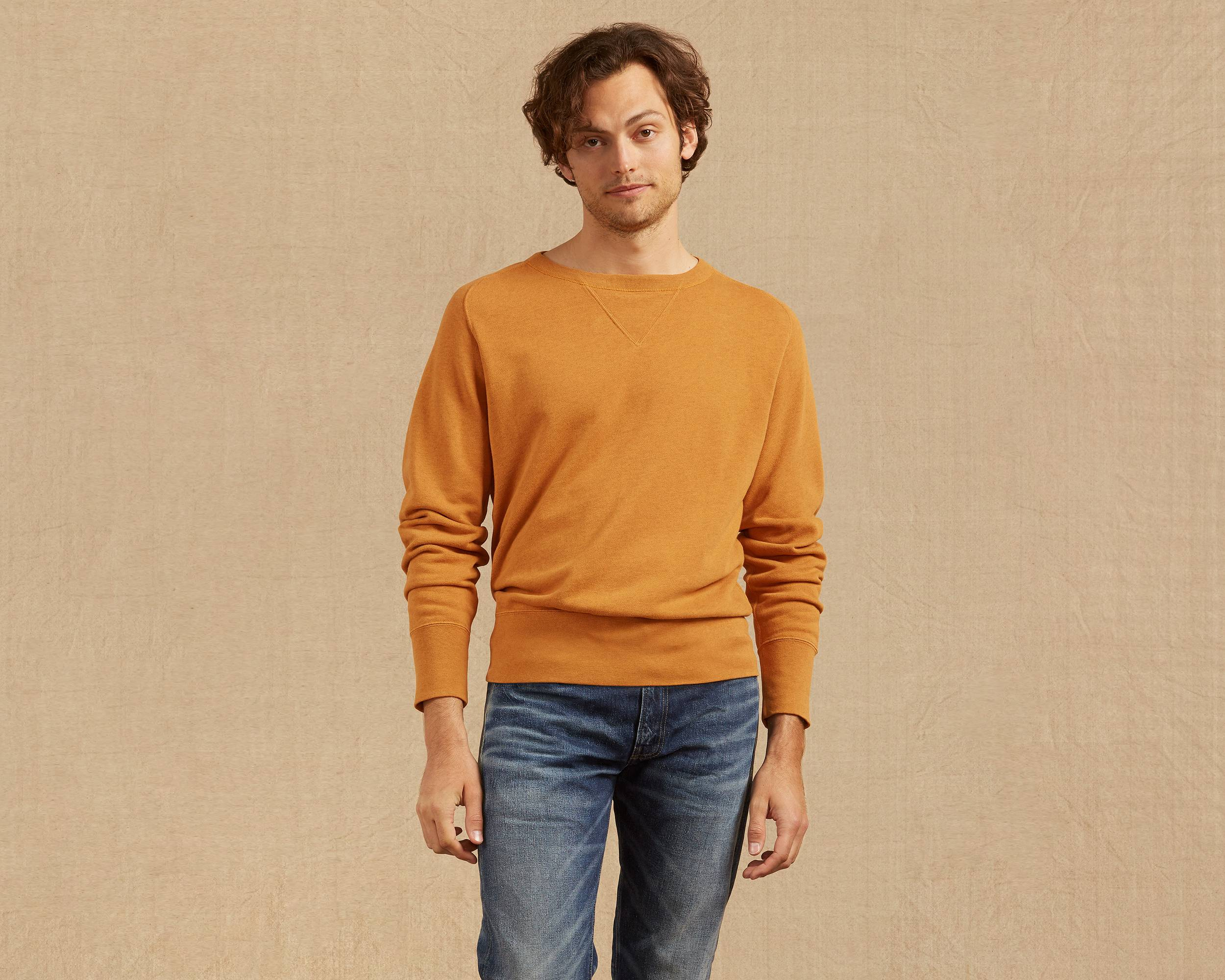 Men's Vintage Style Sweaters – 1920s to 1960s 1930s Bay Meadows Sweatshirt $195.00 AT vintagedancer.com