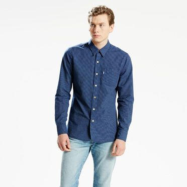 Selvedge Sunset 1 Pocket Shirt