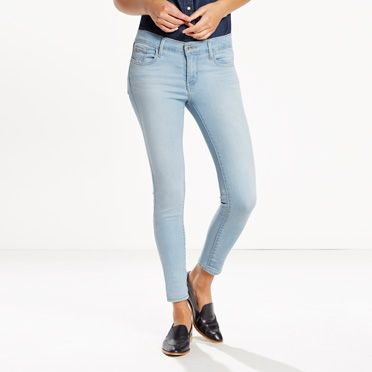 710 Cropped Super Skinny Jeans