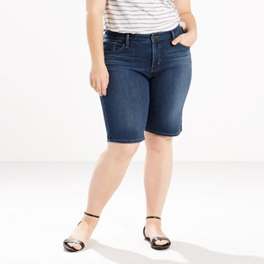 Shaping Bermuda Shorts (Plus)