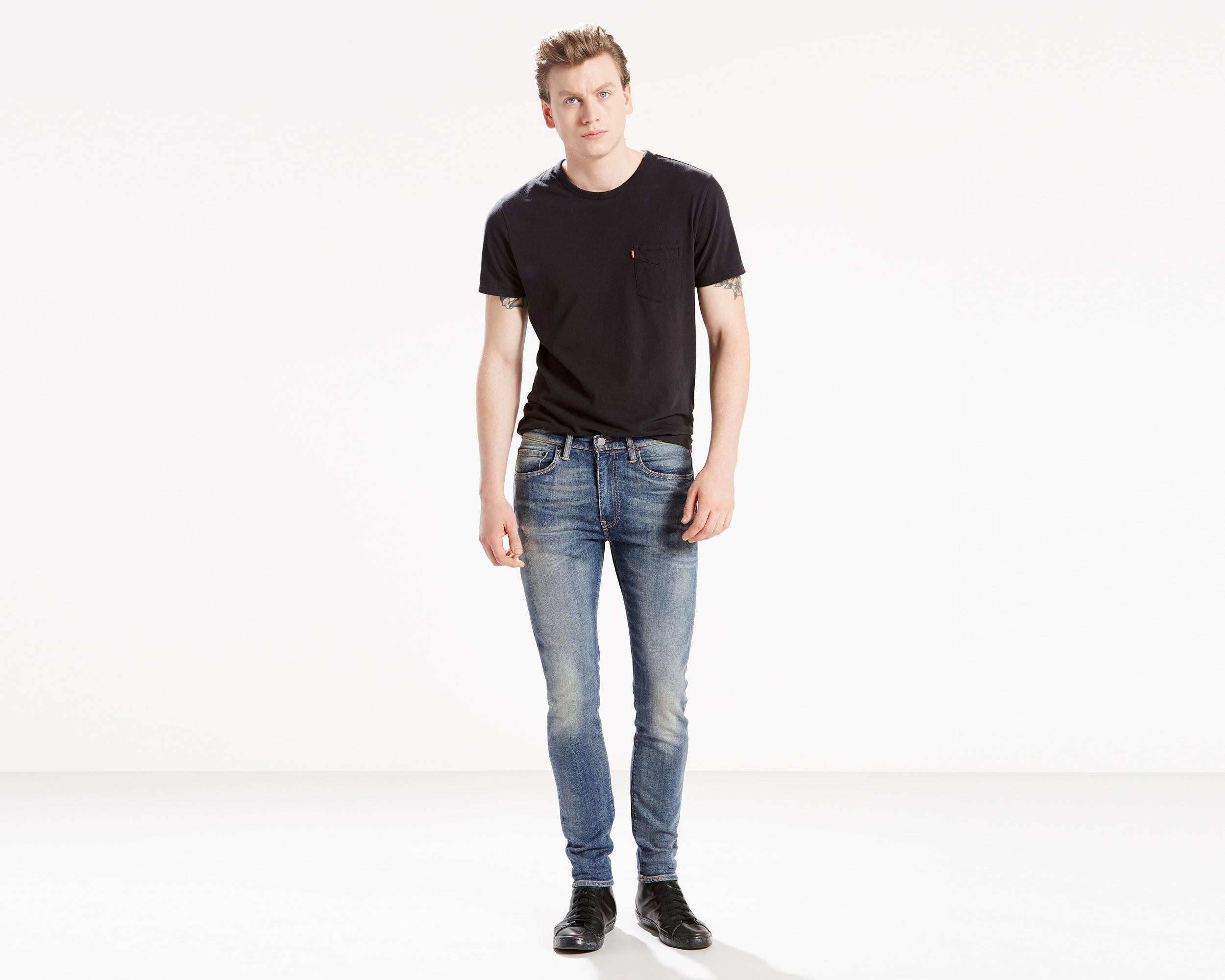 519™ Extreme Skinny Stretch Jeans | Wilderness |Levi's® United ...