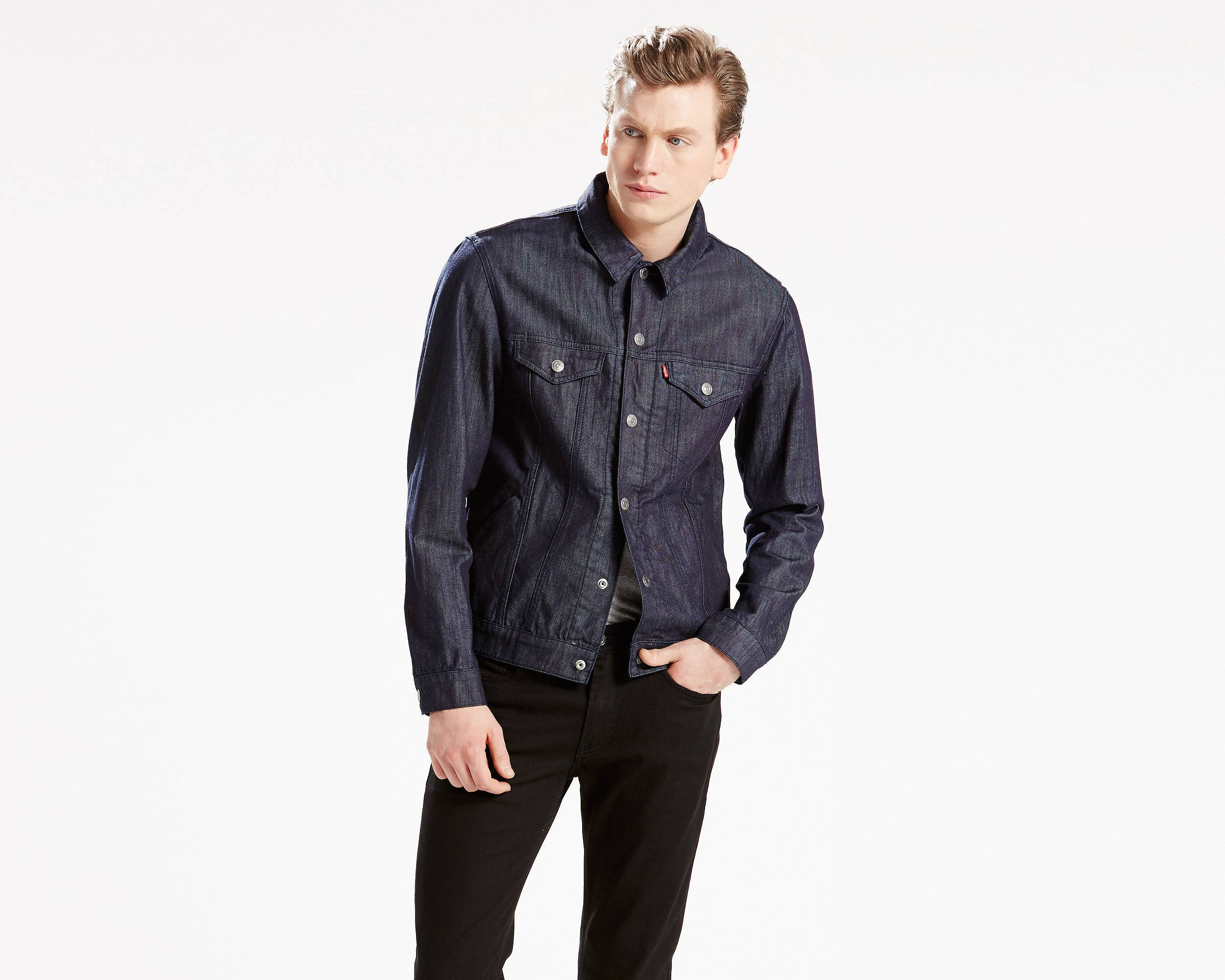 Denim jacket men's sale