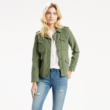 Levis Surplus Womens Jacket