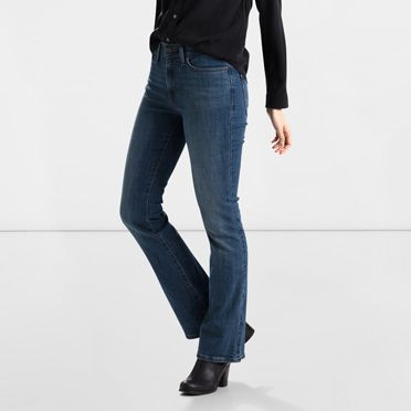 Levis Slimming Boot Jeans Agave Bloom