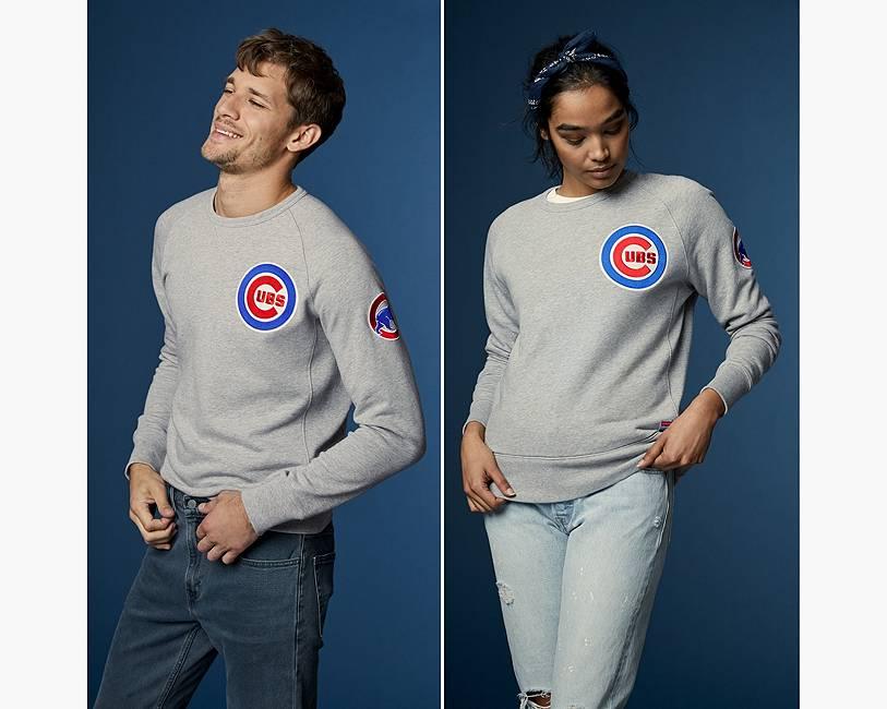 Levi's® MLB Crewneck Sweatshirt   Chicago Cubs  Levi's® United ...