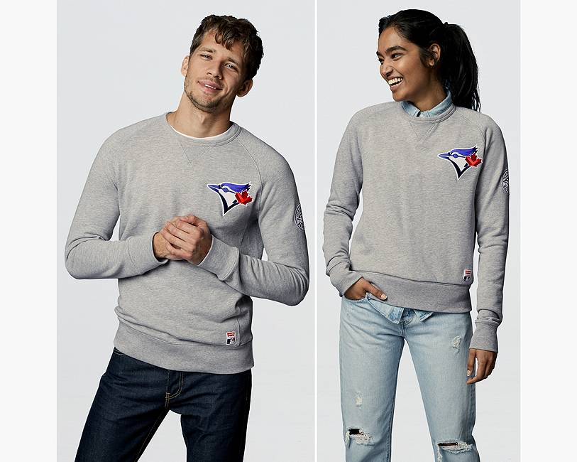 Levi's® MLB Crewneck Sweatshirt   Toronto Blue Jays  Levi's ...