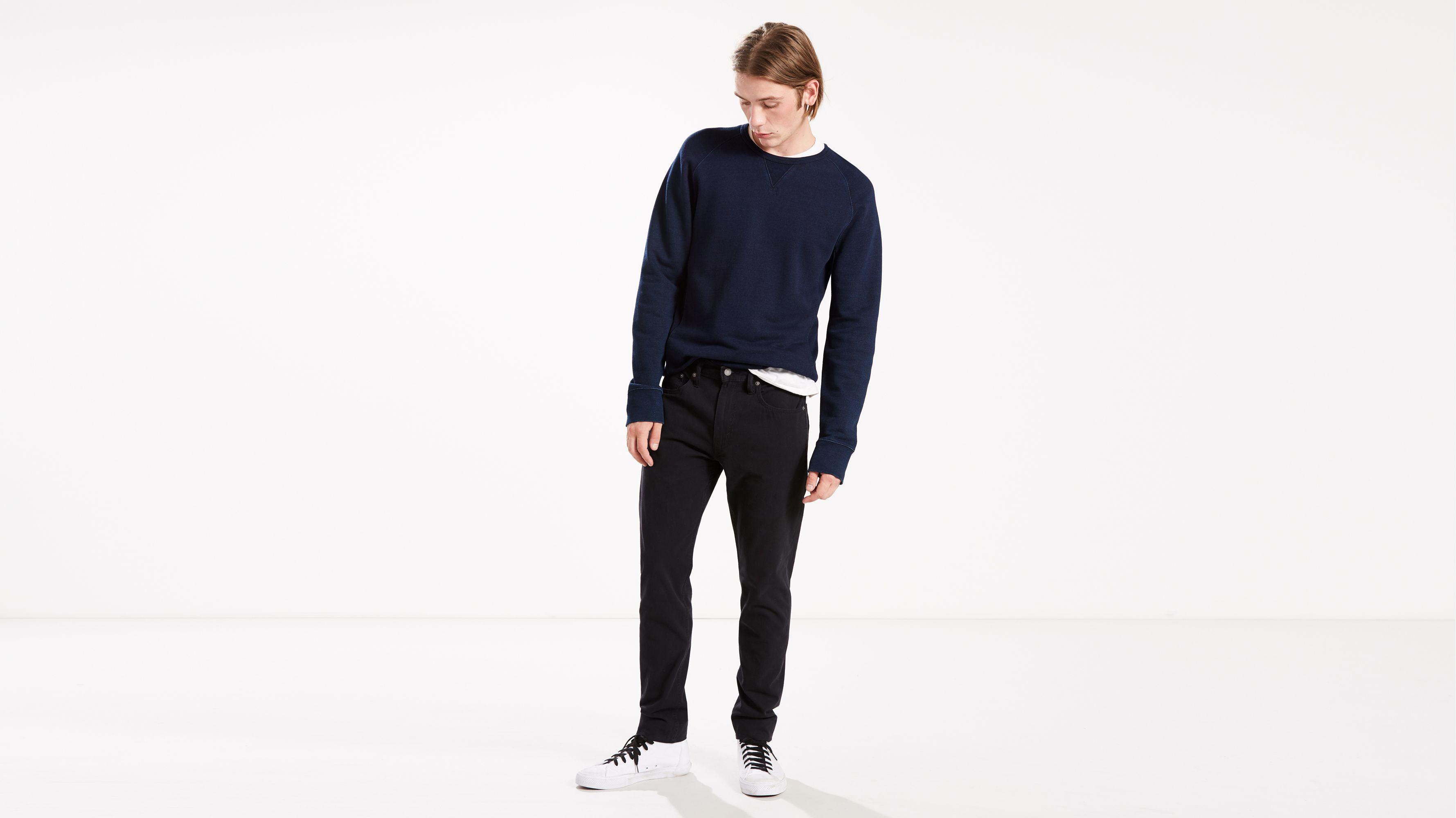 512™ Slim Taper Fit Warp Stretch Jeans | Mineral Black |Levi's® Netherlands  (NL)