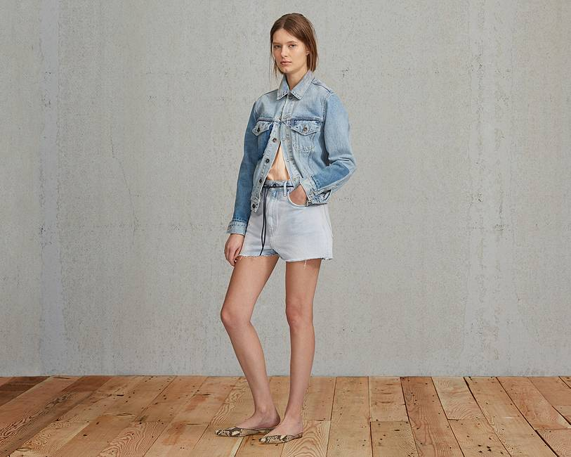 Cut Off Shorts | Powder Blue |Levi's® United States (US)