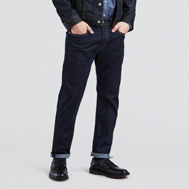 Levis 502? Regular Taper Fit Stretch Jeans Dark Hollow