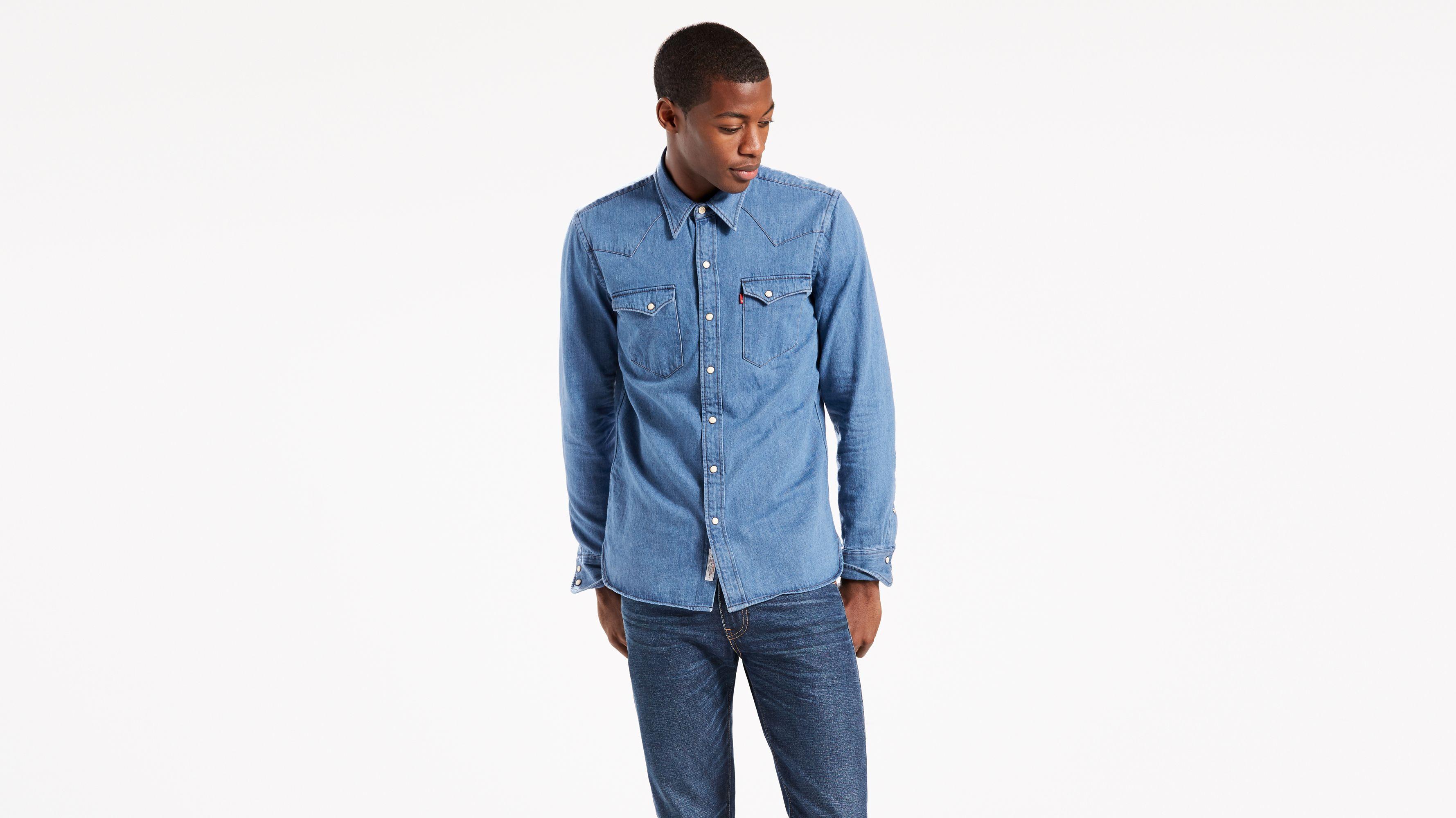 ec3cdffb24 Selvedge Sawtooth Western Shirt