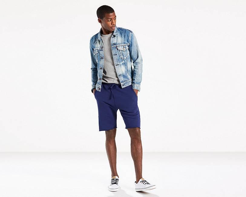 Sweat Shorts   Rich Blue  Levi's® United States (US)