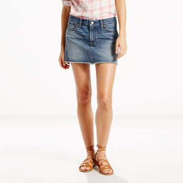 Authentic Mini Skirt | Nouveau Indigo |Levi's® United States (US)