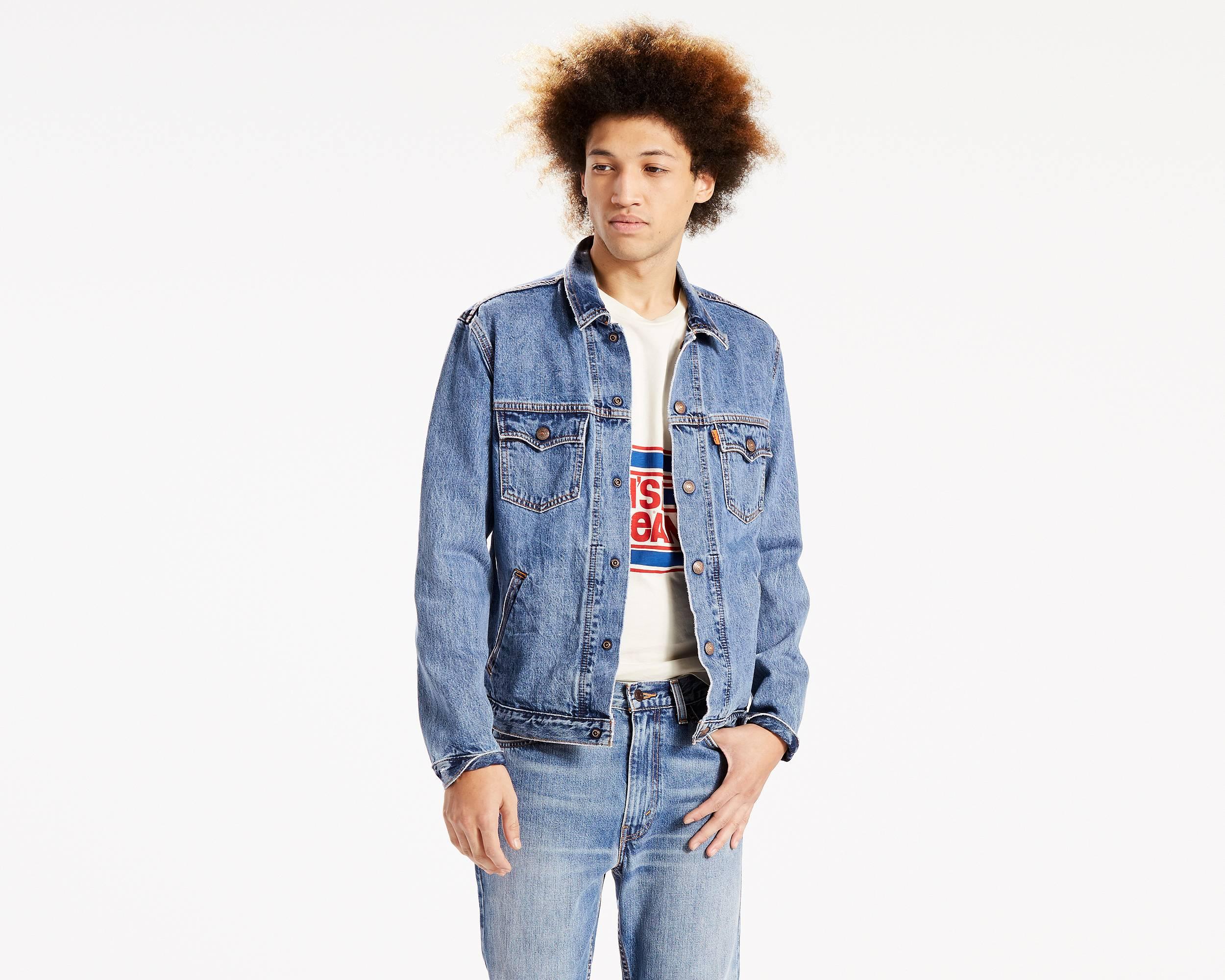 Trucker Jacket - Shop the Original Men's Denim Jacket | Levi's®